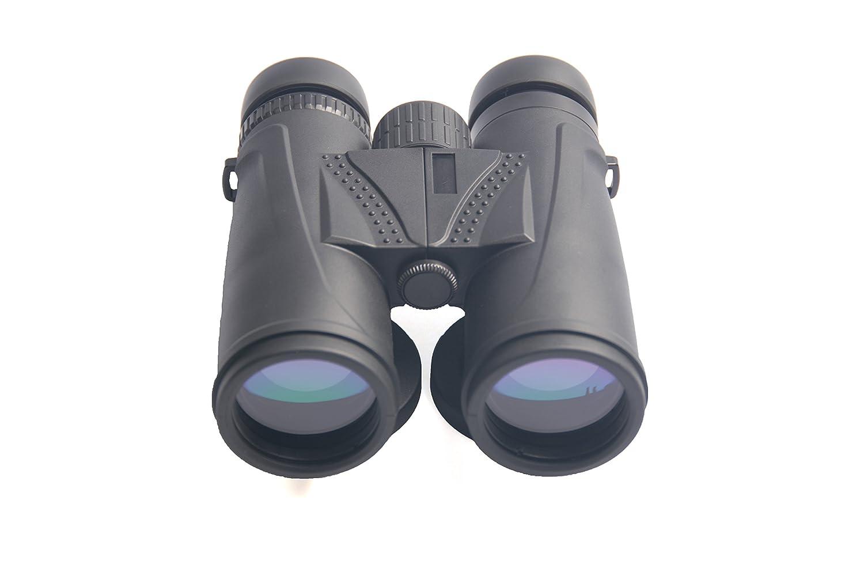 Guangying High Powered双眼鏡for Bird Watching。明るいとクリアのビューBoating、旅行、スポーツ、狩猟、ビーチ、ハイキング、Exploring。防水。双眼鏡 B072SH1L5B Plastic black Plastic black