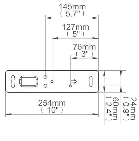 B-Tech BT77 - Soportes para altavoces (25 kg), color blanco (1 par)