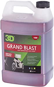 3D Grand Blast Engine Degreaser - 1 Gallon | Heavy Duty Industrial Cleaner & Degreaser | Removes Grease & Oil | Non Toxic & Biodegradable | Made in USA | All Natural | No Harmful Chemicals