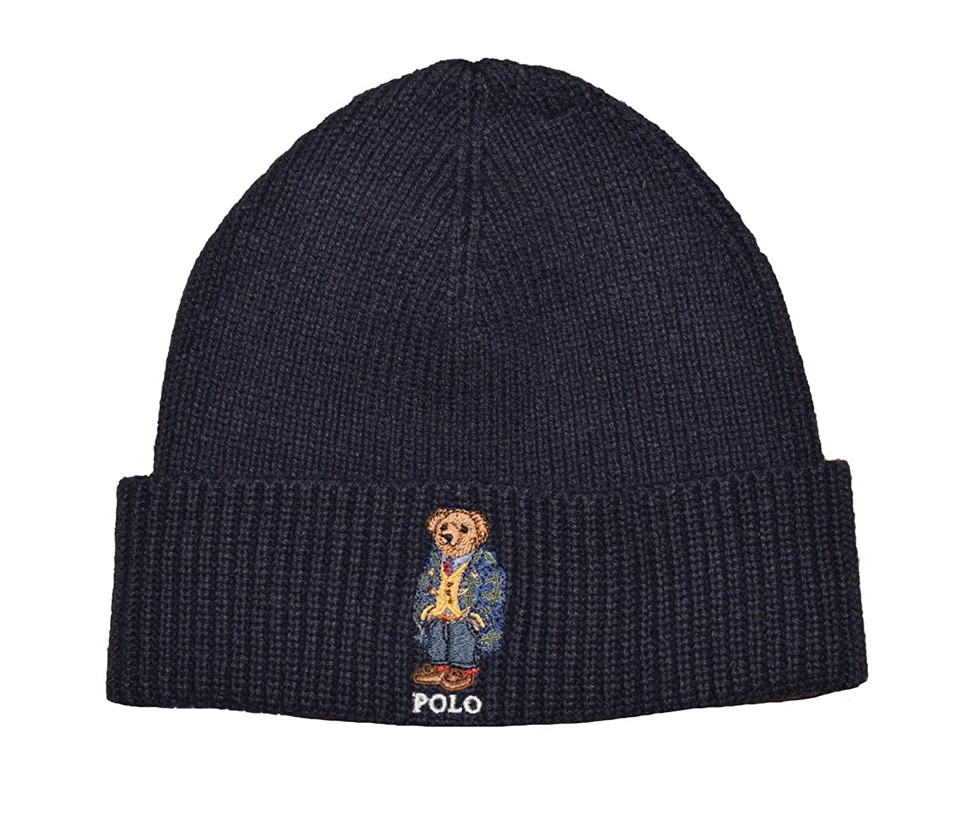 Polo Ralph Lauren Men s Knit Cuff Beanie Hat One Size NAVY at Amazon Men s  Clothing store  ca3007c5363
