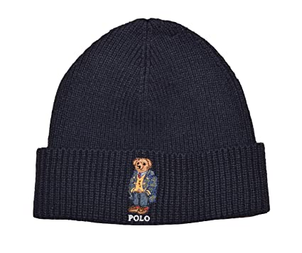Polo Ralph Lauren Men s Knit Cuff Beanie Hat One Size NAVY at Amazon Men s  Clothing store  673b08f7f25