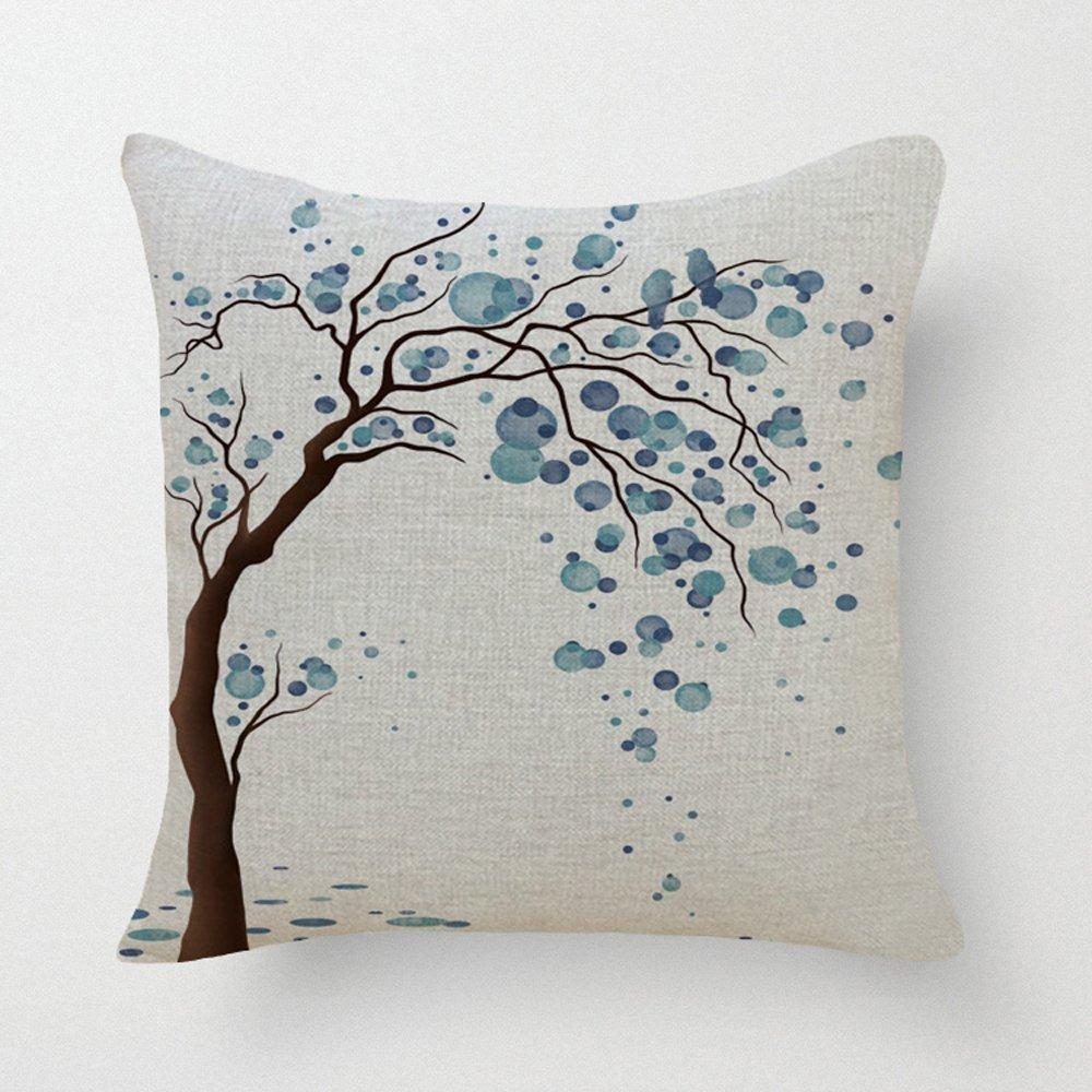 Brand new Amazon.com: LYN Cotton Linen Square Throw Pillow Case Decorative  KA55