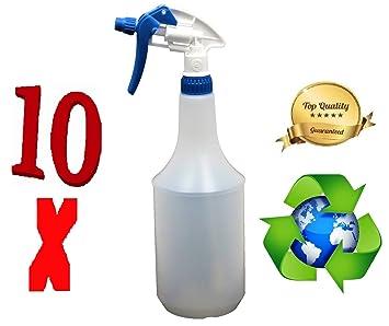 Pulverizador vacío 1L L Química Resistente a golpes de reciclado celtem plástico con cabezal pulverizador de