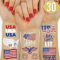 29dbe5cc4 xo, Fetti Fourth of July Decorations Flash Tattoos - 30 styles | Memorial  Day,