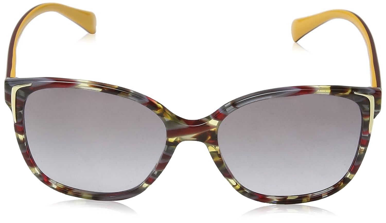 b3c63191e83 Prada 0PR01OS TH63E2 55 Montures de lunettes Jaune (Havana Ears Bord  Yellow Greygradientgrey)