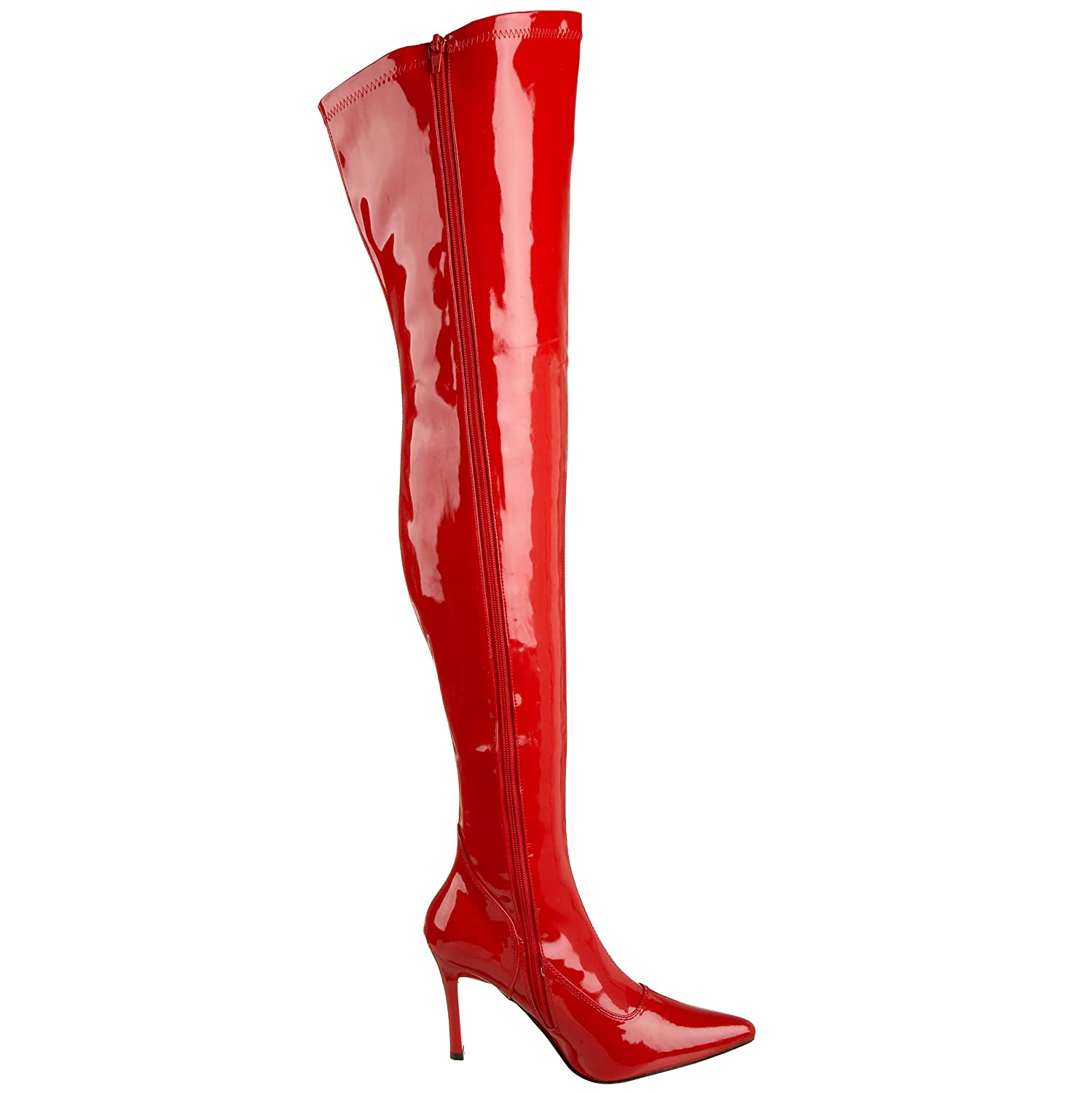 Funtasma 6 by Pleaser Women's Lust-3000 Boot B0018NG4PI 6 Funtasma B(M) US|Red Str Patent 10874b
