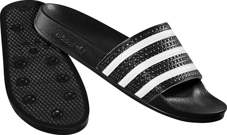 adidas Originals ADILETTE  Unisex Erwachsene Bade Sandalen Noir