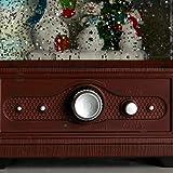 ReLive Christmas Light-Up Snow Globe - Retro