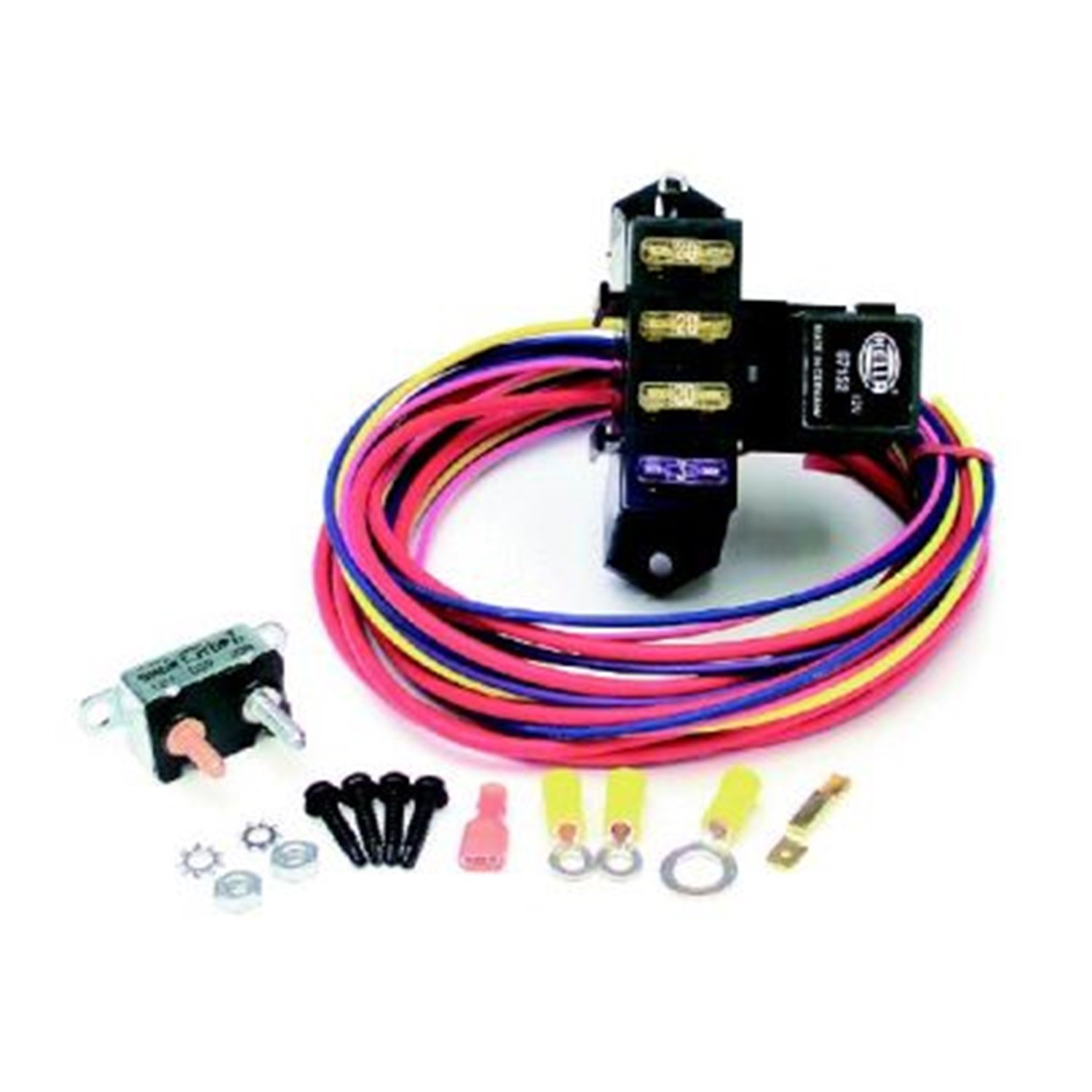 71KC1UcHI2L._SL1500_ amazon com painless 70113 automotive painless wiring fuse block diagram at eliteediting.co