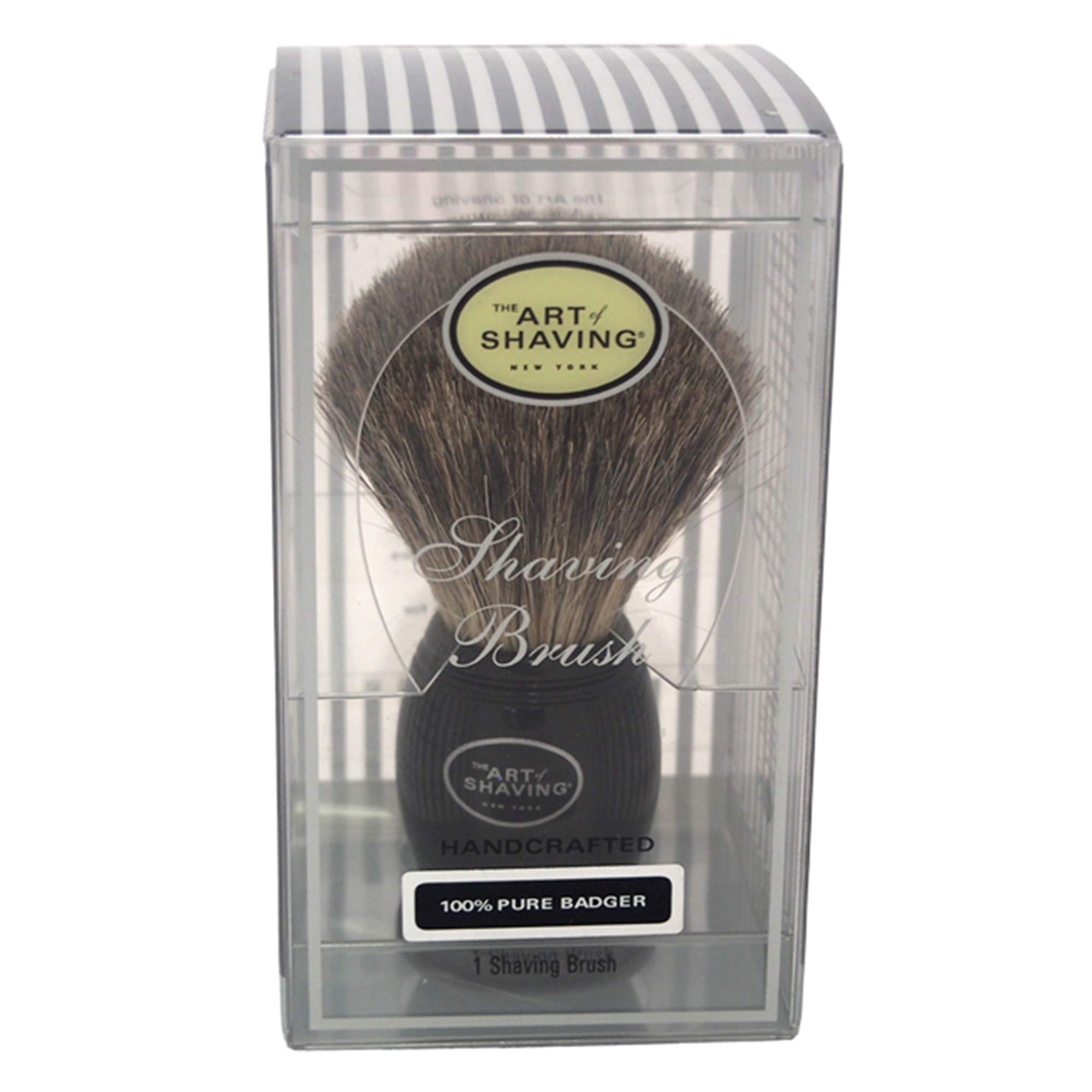 The Art of Shaving Pure Badger Shaving Brush, Black by The Art of Shaving
