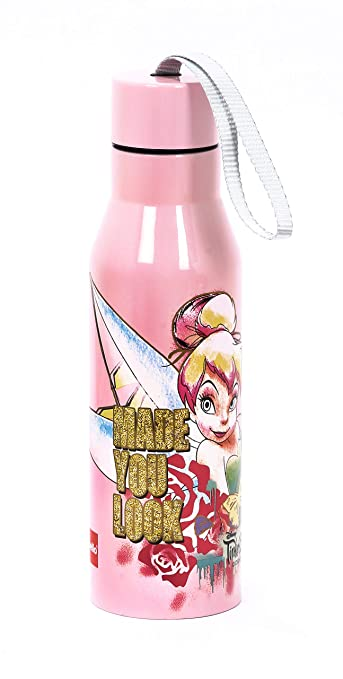 feff35489fd Image Unavailable. Image not available for. Colour  Cello Fairies  Tinkerbell Stainless Steel Water Bottle