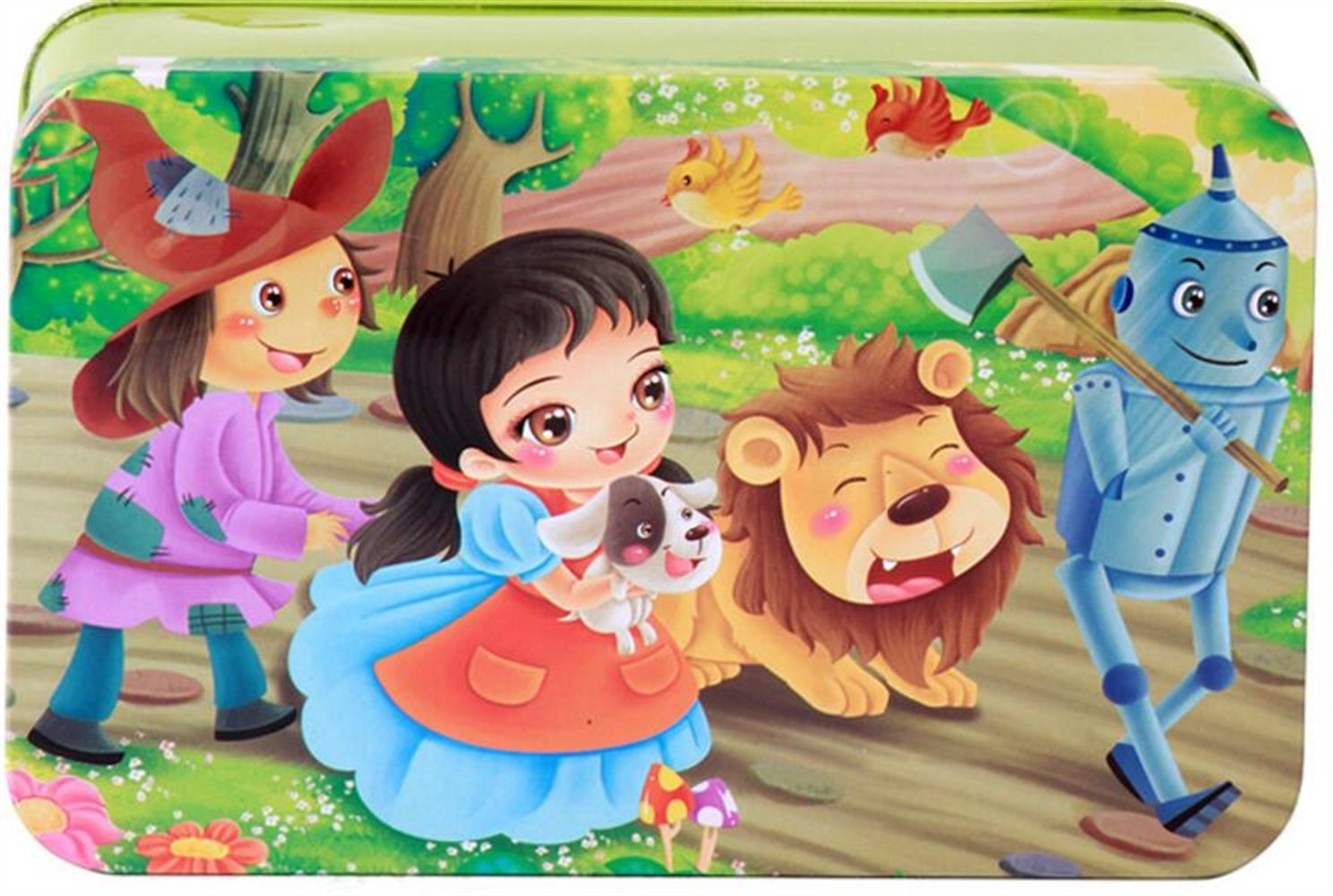 Chusea Interesting Jigsaw Puzzles Wooden Picture Puzzle Early Learning Toy Fantastic Gifts For Kids(The Wizard of Oz)