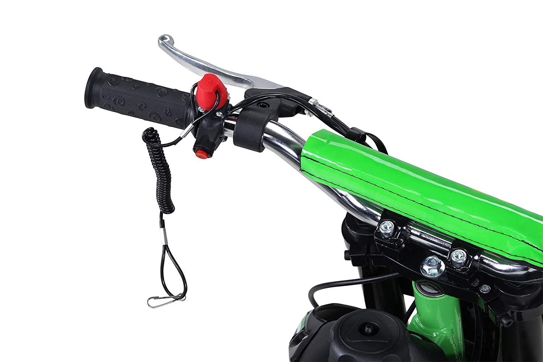 Actionbikes Motors Kinder Mini Crossbike Gepard 49 cc 2-takt inklusive Tuning Kupplung 15mm Vergaser Easy Pull Start verst/ärkte Gabel Dirt Bike Dirtbike Pocket Cross Blau