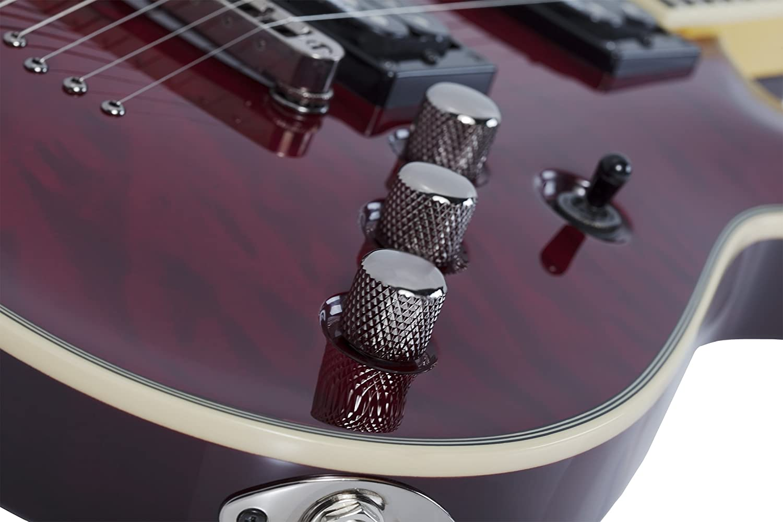 Schecter Omen extreme-7 Guitarra Eléctrica (Black Cherry): Amazon.es: Instrumentos musicales