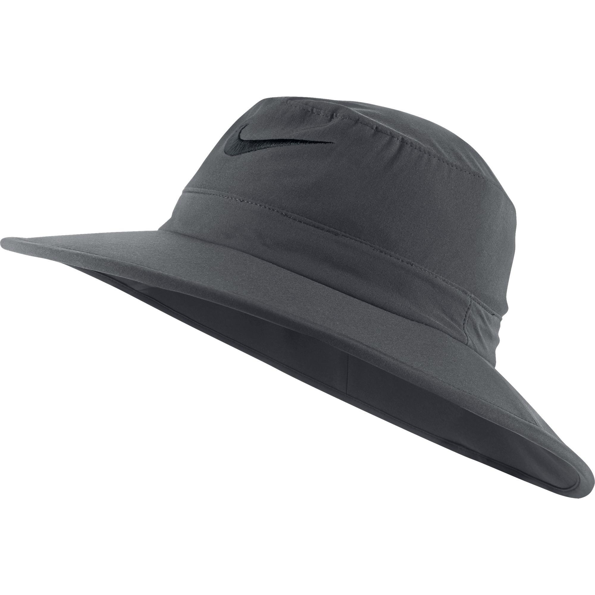 20093baa5fb Nike Golf Sun Protect Bucket Hat (Dark Gray