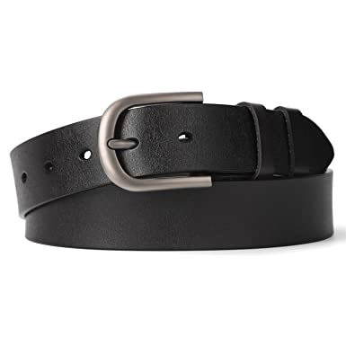 8656b143c Women's leather belt - New arrival genuine leather ladies belt  -1.3-inchWide- Silver