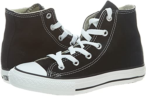 Converse Yths Chuck Taylor All Star Hi Black Little Kids 3J231 (2.5)