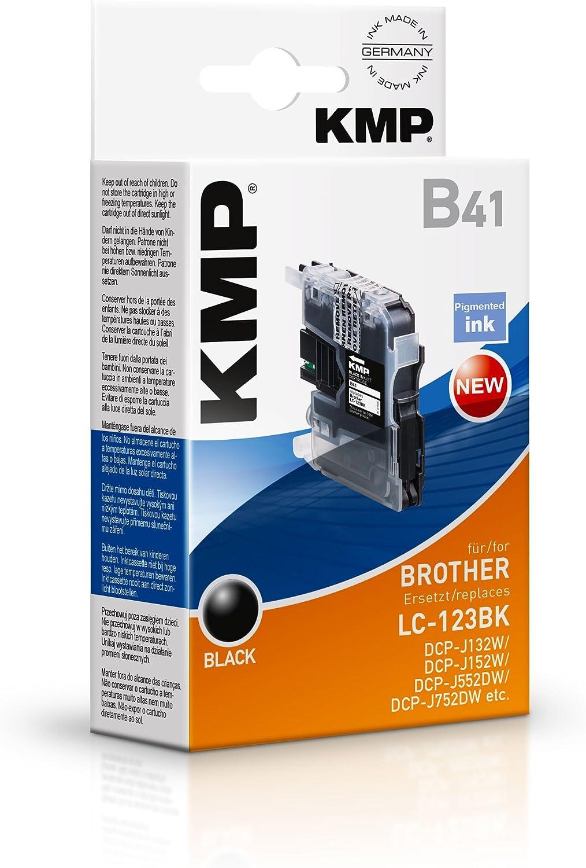 KMP LC123BK cartucho de tinta Negro 1 pieza(s) - Cartucho de tinta ...