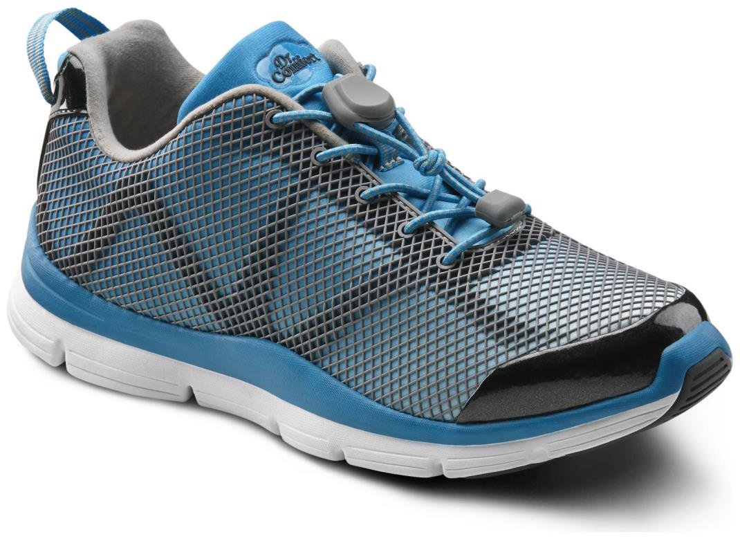 Dr. Comfort Women's Katy Turquoise Diabetic Athletic Shoes