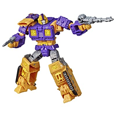 Transformers Toys Generations War for Cybertron Deluxe WFC-S42 Autobot Impactor Figure - Siege Chapter - Adults and Kids Ages 8 and Up, 5.5-inch: Toys & Games