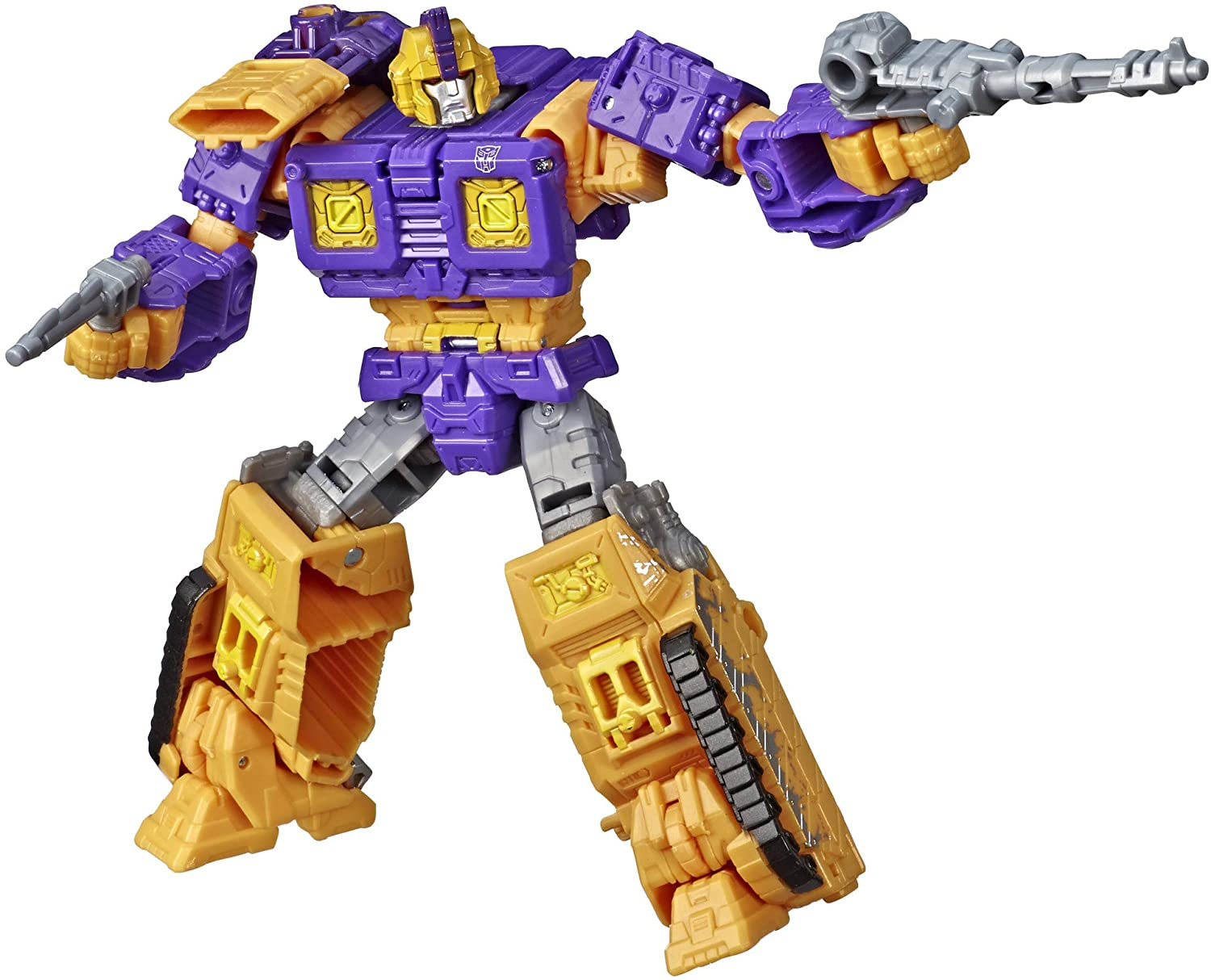 Transformers Toys Generations War for Cybertron Deluxe WFC-S42 Autobot Impactor Figure - Siege Chapter - Adults and Kids Ages 8 and Up, 5.5-inch
