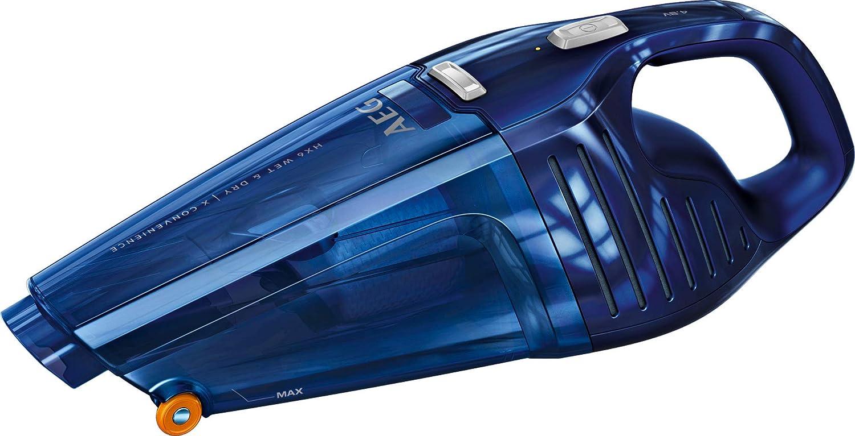 AEG HX6-8DB-W Aspiradora de Mano, 4.8 V Baterías Ni-Mh, 8 min Autonomía, Sólido y Líquidos, 0.5L, 78 DB: Amazon.es: Hogar