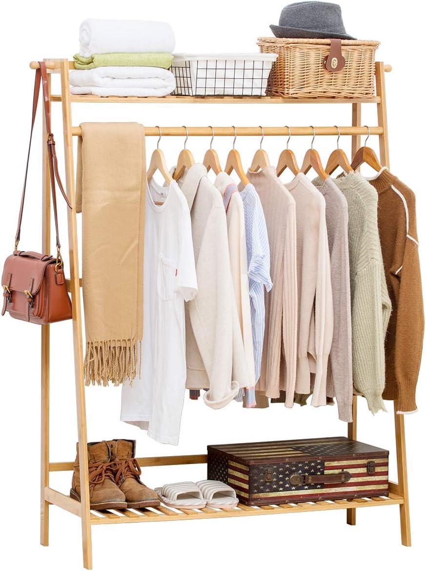 Heavy Duty Clothes Rail Garment Hanging Rack Shelf Display Stand Dress Shop
