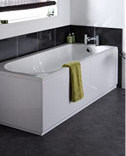 Perfect VeeBath Linx 1700mm Universal White Gloss Bath Panel Mdf Front Bath Panels  With Adjustable Bath Panel