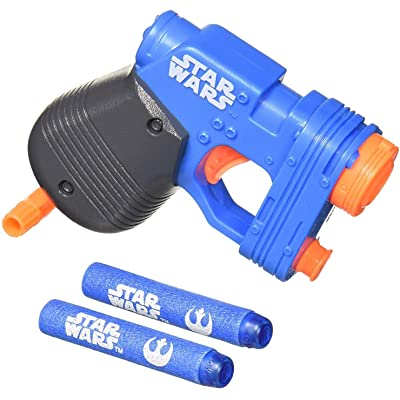 Nerf MicroShots Star Wars Rey (Island Journey) Blaster: Toys & Games