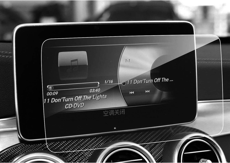 Lfotpp Mercedes Glc Glc Coupe C Klasse V Klasse Cls Amg 8 4 Zoll Navigation Schutzfolie 9h Kratzfest Anti Fingerprint Panzerglas Auto