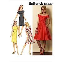 BUTTERICK b6129 Patrón de Costura [en inglés, alemán