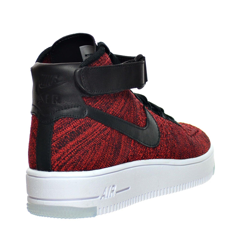 best service b82b2 8e898 Nike AF1 Ultra Flyknit Mid Men s Shoe University Red Black Team Red White  817420-600 (7.5 D(M) US)  Amazon.ca  Shoes   Handbags