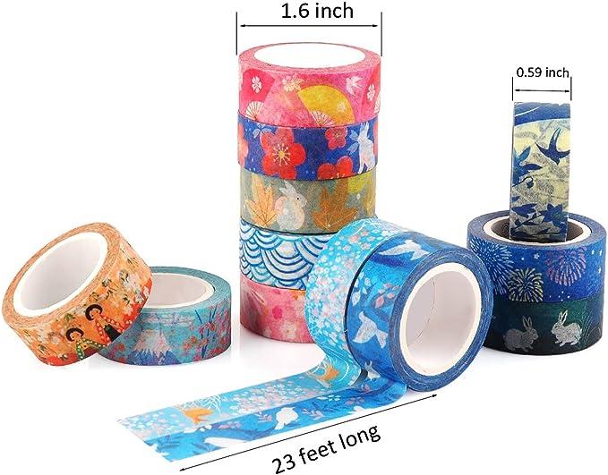Bullet Journal Scrapbooking 10cm Map Washi Tape Diary Tape Masking Tapes Washi Tapes Gift Wrapping Adhesive
