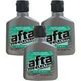Mennen Afta Pre-Electric Shave Lotion, 3 Ounce (Pack of 3)