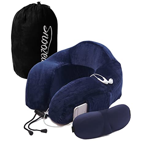 Cuscino da viaggio cuscino per il collo di qualità - Con Memory Foam per  macchina 67755c1a402