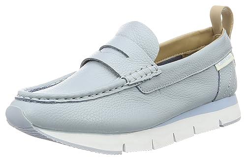 Calvin Klein Jeans RE9503, Mocasines Mujer, Azul (Cby), 35 EU: Amazon.es: Zapatos y complementos