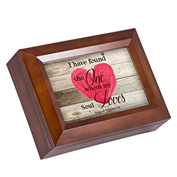 amazon com my soul loves heart song of solomon 3 4 wood finish