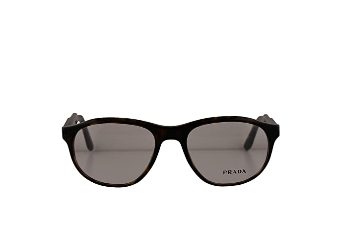 0f153bfee4e7 Image Unavailable. Image not available for. Color  Prada Journal PR12SV Eyeglasses  52-18-140 Matte Havana ...