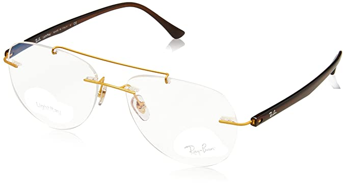 a7ef1c5a4ef Image Unavailable. Image not available for. Color  Eyeglasses Ray-Ban  Optical RX 8749 1194 GOLD