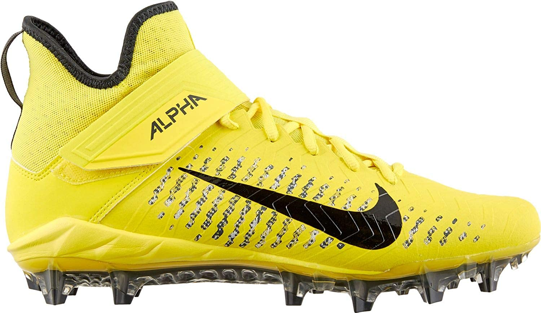 Nike Men's Alpha Menace Pro 2 Mid Football Cleat