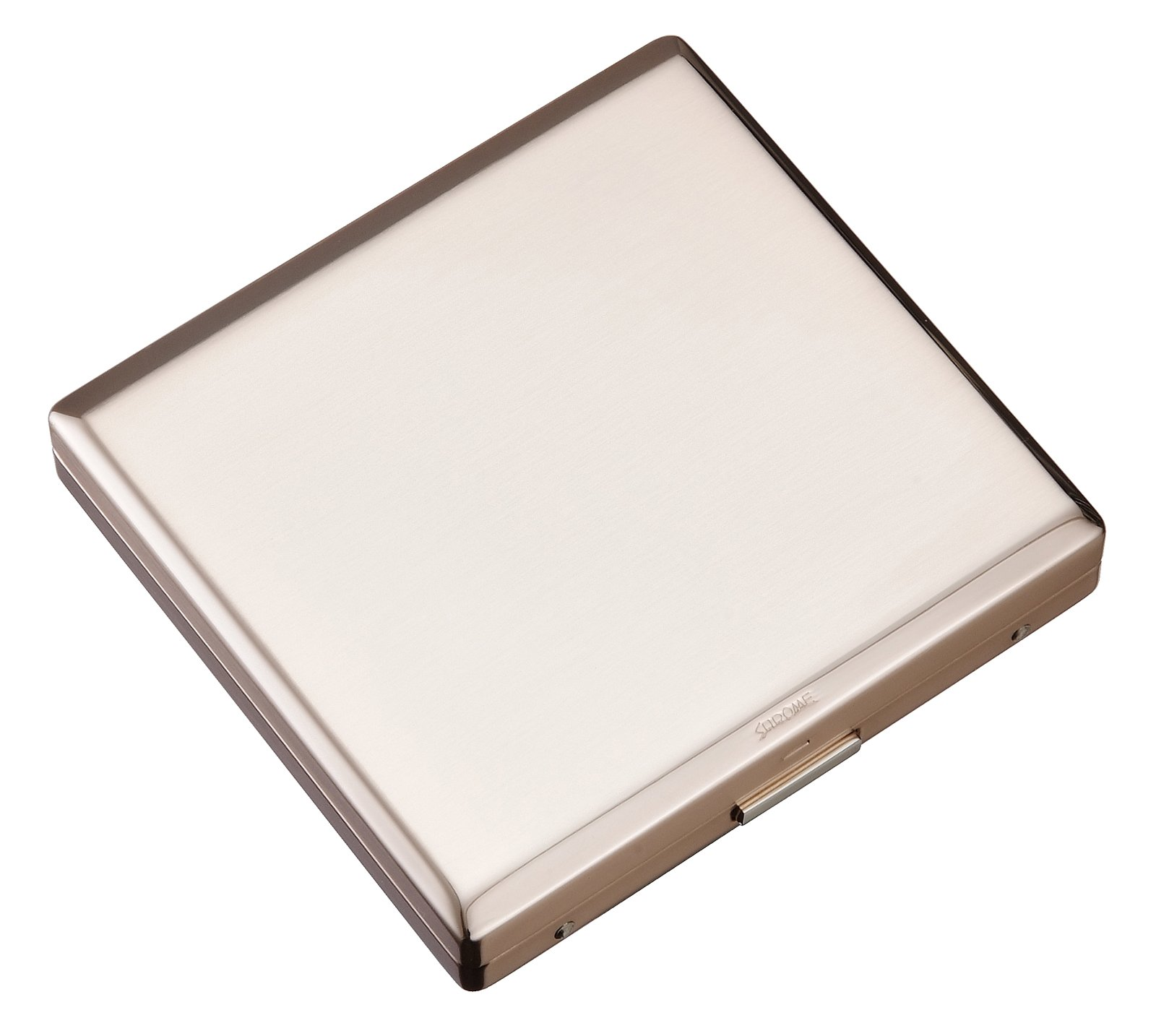 Sarome metal cigarette case EXCC3-03 KS20 / ROSE GOLD SATIN by Sarome (Image #1)