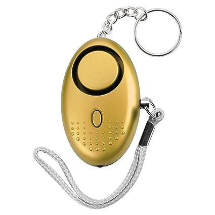 Amazon.com: CENDT Llavero de alarma personal, 140DB ...