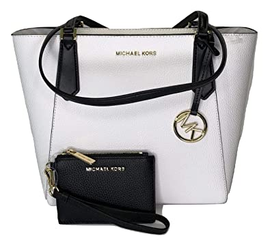 b95122337816 Image Unavailable. Image not available for. Color: MICHAEL Michael Kors  Kimberly SM Bonded Tote bundled with Michael Kors Jet Set Travel Coin Purse