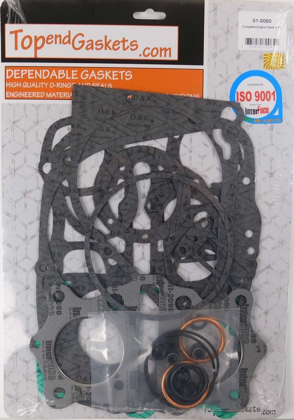 Engine Gasket Kit Set Honda CB350 CL350 SL350 350 CB CL 1970-1973 TopEndGaskets