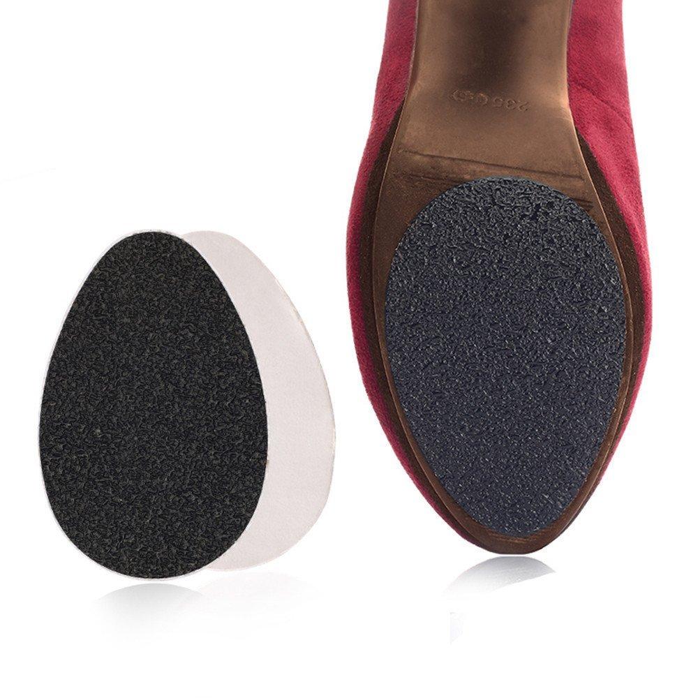 Vegacare 20 paia antiscivolo Impugnature autoadesive antiscivolo scarpe col tacco alto suola di protezione adesivi pads per uomini e donne