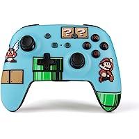NSW Enhanced Wireless Controller - 8 Bit Mario Blue