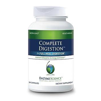 Amazon.com: Enzima ciencia – completo Digestión – Full ...