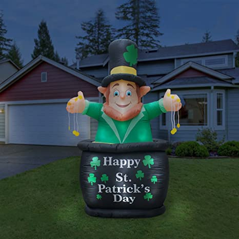 Amazon.com: Holidayana St Patricks Day - Figura de San ...