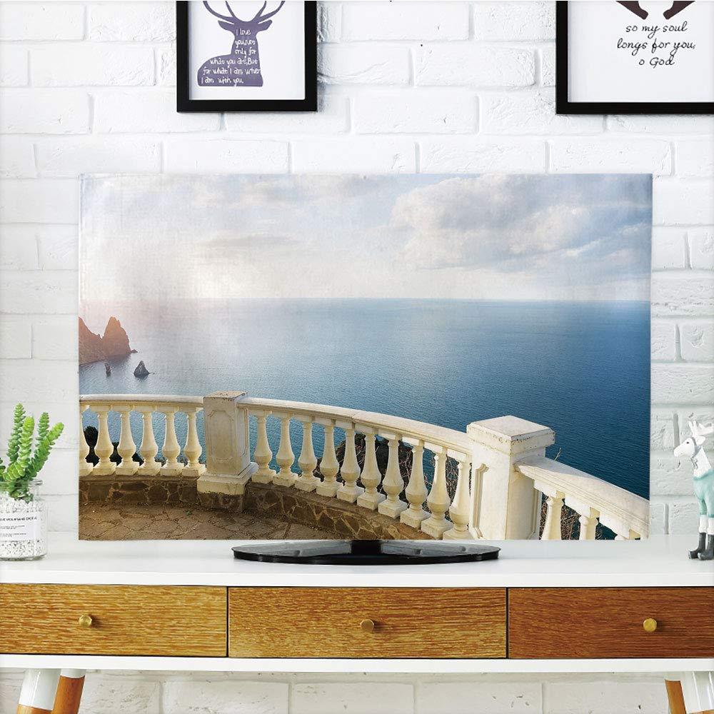Funda para televisor LCD, diseño Antiguo, diseño de Renacimiento ...