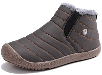 Sixspace スノーブーツ メンズ レディース ショート ブーツ スノーシューズ 防水 防寒 防滑 保暖 裏起毛 冬